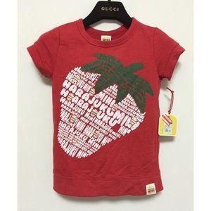 NWT Mini Harajuku Lover Strawberry Front T shirt